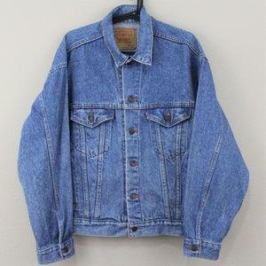 VTG Levi's Made In USA 70507 Denim Jacket K155